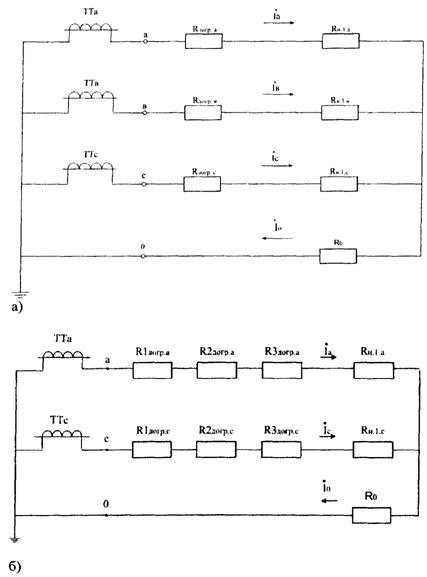 Схема соединения вторичных