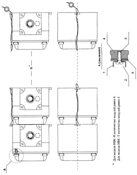 5 - корпус прибора.