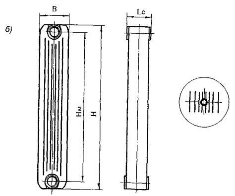 секционного радиатора «Armat