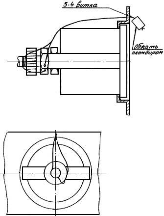Схема пломбирования спидометра