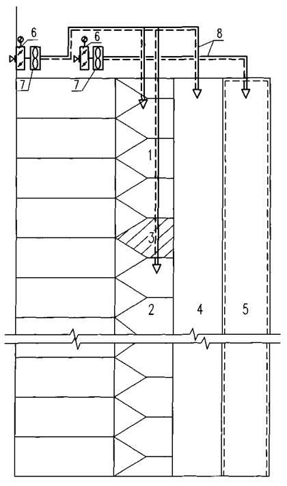 4 - шахта лифта; 5 - шахта