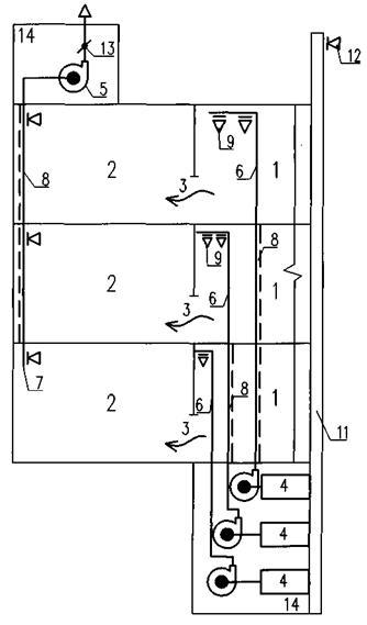 1 - рампа; 2 - стоянка