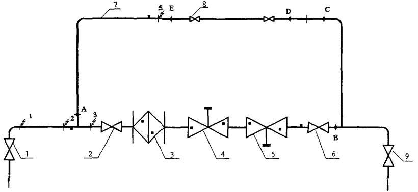Принципиальная схема грп.