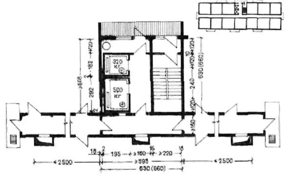 Нп 9.1-80 лестнично-лифтовые узлы жилых и общественных здани.