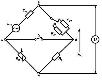 Рисунок G.1 - Мостовая схема