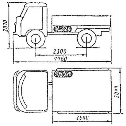 Автомобиль УАЗ-33032.01