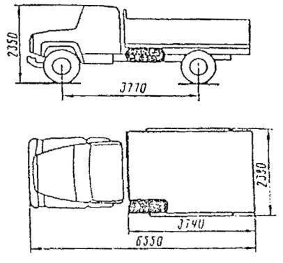 Автомобили ГАЗ-5319 и ГАЗ-