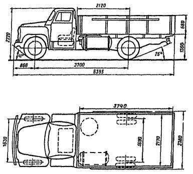 автомобиль ГАЗ-53-19