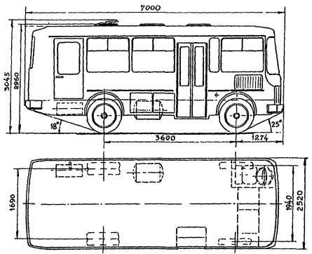 Автобус ПАЗ-3205-10 (рис.