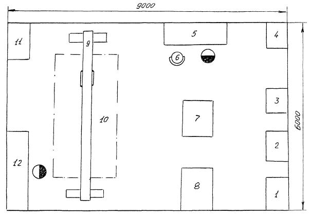 На рис. 2 приведена планировка