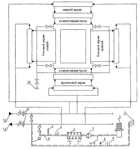 Схема консервации котла
