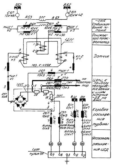 Электрическая схема вывода