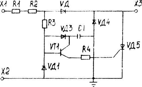 электрическая схема платы